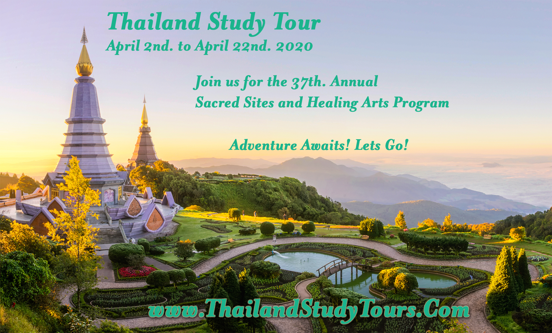 SomaVeda® Thai Yoga Thailand Tour April 2020